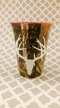 DECAL ONLY****  Deer Skull Decal by LowTideCrafters on Etsy