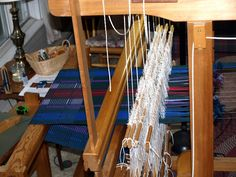 Threadbare Designs - a Weaver's Journey: Rep rug!