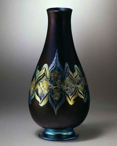 Tiffany Art, Tiffany Glass, Vases, Leaded Glass Windows, Louis Comfort Tiffany, Art Nouveau, Winter Park, Blown Glass, Glass Art
