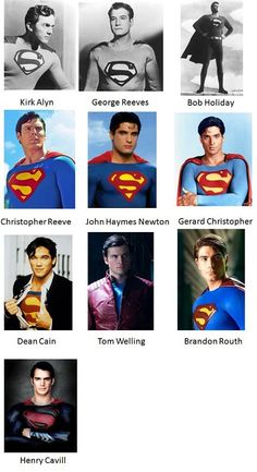 Los Clark Kent en los 75 años de Superman