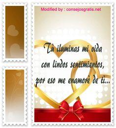 buscar mensajes romànticos para enamorar,frases y mensajes románticos: http://www.consejosgratis.net/palabras-de-amor-para-una-mujer-hermosa/