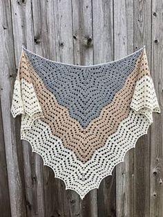 Saffron (Our Mrs. Reynolds) Shawl ~ free pattern