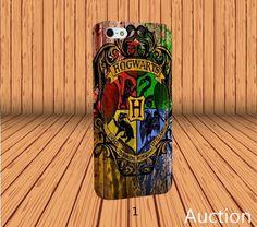 Harry Potter Hogwarts Crest for iPhone 4/4s Case Laser Technology #designyourcasebyme