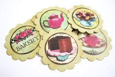 Dessert Tags with Bakery Cake and Sweet - by @adorebynat