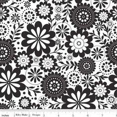 Riley Blake Designs: L3511-WHITE