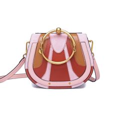 £74.95 ($99) Luxury saddle crossbody bag for women in new pink striped colour.  The material is genuine leather. Handbag is available in sizes small and medium.  #womenshandbags #crossbody #shoulderbags #handbag #striped #saddle Saddle Handbags, Saddle Bags, Cute Crossbody Bags, Leather Crossbody, Cross Body Handbags, Seo, Shoulder Bag, Colour, Medium