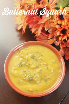 Try this Butternut Squash Soup recipe for a savory dinner on a cool winter night.