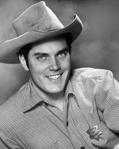 Jeffrey Hunter In Cowboy Hat Western Photo