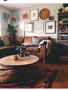 home decor living room The living room is an area where guests collect. For that reason, the comfort and also elegance of the living room need to be thought about. One way to beautify the living room is to make use of a living room wall decor. Boho Living Room Decor, Living Room Decor On A Budget, Living Room Remodel, Home Living Room, Apartment Living, Living Room Designs, Living Room With Brown Sofa Ideas, Cottage Living Room Small, Brown Room Decor