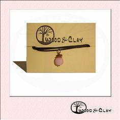 Cute pearl necklace woodandclay.de