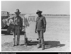 De Berquelle, Raymond 1933- Mail recipients at Alton Downs, South Australia, 1984 [picture]