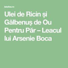 Ulei de Ricin și Gălbenuș de Ou Pentru Păr – Leacul lui Arsenie Boca Salvia, Body Care, Health, Decor, Decoration, Health Care, Sage, Decorating, Bath And Body