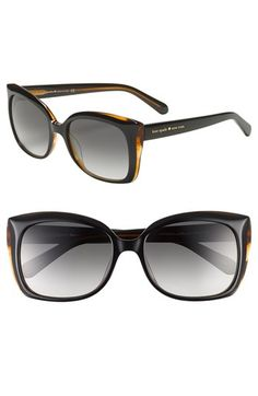 3cb5ab77085f1 Free shipping and returns on kate spade new york  gardes  55mm sunglasses  at Nordstrom