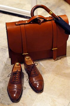 Perfect accessories for the old fashioned business man. Guy Style Guide