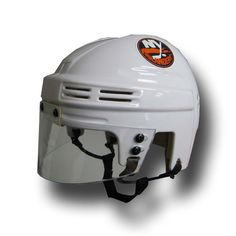 Official Licensed Mini Player Helmets - Ny Islanders (White)