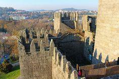 The Castle of Guimaraes, Portugal