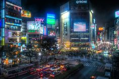 """fuckyeahcyber-punk: """" horizontescuriosos said to fuckyeahcyber-punk: Hey, do you have any examples of real-world places that look cyberpunk? I've read that Shibuya Crossing in Tokyo, and Potsdamer. Shibuya Tokyo, Tokyo City, Tokyo Japan, Shinjuku Tokyo, Neo Tokyo, Yokohama, Nagoya, Kyoto, Roppongi"""