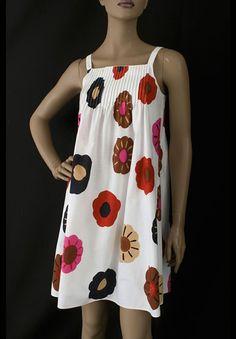 Marimekko cotton sun dress, 1960s, from the Vintage Textile archives.