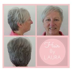 Cute layered cut by A Glo's Laura!