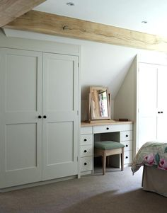If you don't have an attic closet, after that you should promptly install it. Due to the fact that attic closet are one of the most reliable storage. Bedroom Attic Bedroom – How to Decorate Attic Bedrooms Loft Room, Bedroom Loft, Bedroom Decor, Attic Bedroom Closets, Loft Bathroom, Bathroom Ideas, Small Attic Bedrooms, A Frame Bedroom, Eaves Bedroom