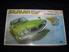 Extremely Rare - Yamada 1/24 Scale Mazda Savanna Coupe GS II #Yamada