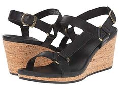 Teva Arrabelle Universal Leather Wedges, Leather, Shoes, Women, Fashion, Moda, Zapatos, Shoes Outlet, Women's