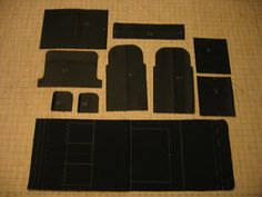 Patterns for a Handlebar bag