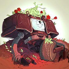 Fallout Fan Art, Fallout Concept Art, Robot Concept Art, Video Game Logic, Video Game Art, Fallout Comics, Fallout Funny, Bioshock Cosplay, Apocalypse Art
