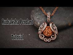 Macrame Earrings Tutorial, Earring Tutorial, Wire Tutorials, Jewelry Making Tutorials, Wire Wrapped Pendant, Wire Wrapped Jewelry, Wire Jewelry Making, Wire Jewellery, Copper Jewelry