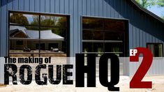 In this episode of the Rogue HQ series we get into the process we took to prepare our floor for the hydronic heating, pouring the concrete, and grinding and polishing it for a killer finish. Oh and we got some pretty dope garage doors too. Diy Furniture Projects, Diy Wood Projects, Home Projects, Roll Up Garage Door, Garage Doors, Barndominium Pictures, Hydronic Heating, Garage Storage Solutions, Floor Finishes