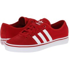 adidas Originals Adria Lo W Women's Classic Shoes, Red (155 SAR) ❤ liked on Polyvore featuring shoes, red, laced up shoes, metallic shoes, lace up shoes, adidas originals and laced shoes