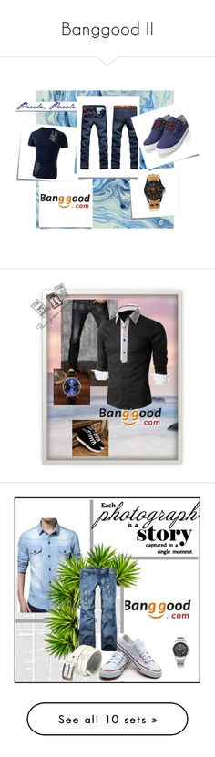 """""""Banggood II"""" by a-camdzic ❤ liked on Polyvore featuring Post-It, White Label, men's fashion, menswear, Seed Design, Dot & Bo, Nicki Minaj, American Eagle Outfitters, Montblanc and Ralph Lauren"""
