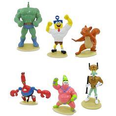 The SpongeBob Movie 8-Piece Toy Set