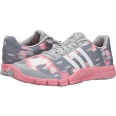 adidas A.T. 360.2 Prima Women's Cross Training Shoes, Gray ($33) ❤ liked on Polyvore featuring shoes, athletic shoes, grey, adidas footwear, breathable shoes, grey shoes, wrap shoes and adidas