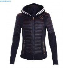 Bogner Women Dana Down Shell Jacket – Black
