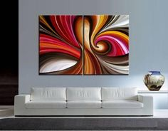 Large Abstract painting, Wall Art, Contemporary Art Abstract Oil Painting on Canvas Wall Hanging, Ho Cool Abstract Art, Oil Painting Abstract, Diy Canvas Art, Painting Inspiration, Modern Art, Contemporary Art, Creations, Paintings, Abstract Oil Paintings