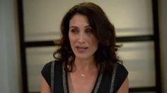 Inside Girlfriends' Guide to Divorce with Lisa Edelstein, Paul Adelstein