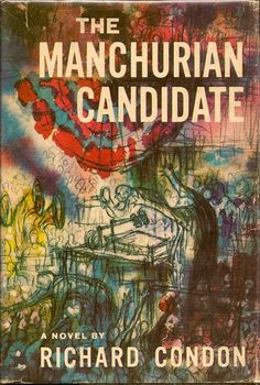 The Manchurian Candidate 1959 | Lovely wrap-around cover art by Bernard Krigstein
