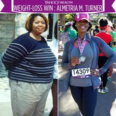Almetria Turner shares with Yahoo Health the story of her incredible 177-pound weight loss.