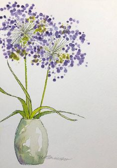Original-Aquarell, ungerahmt painting watercolor inspiration Your place to buy and sell all things handmade Watercolor Paintings For Beginners, Watercolor Pictures, Watercolor Projects, Watercolor And Ink, Watercolor Flowers, Drawing Flowers, Painting Flowers, Watercolor Artists, Watercolor Portraits