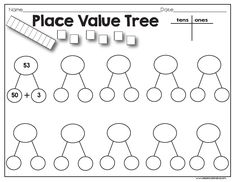 Classroom Freebies: Place Value Tree