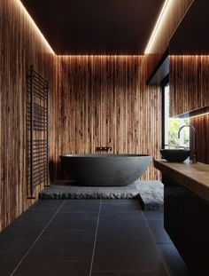 Contemporary bathroom design is entirely a matter of personal choice. Best Modern House Design, Modern Design, Interior Desing, Interior Decorating, Interior Ideas, Contemporary Bathroom Designs, Modern Bathrooms, Living Comedor, Best Bath