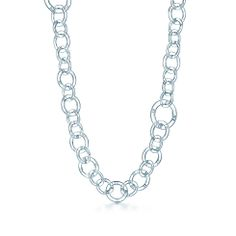 Tiffany Atlas link necklace in sterling silver.