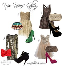Several New Years Eve Outfit Ideas!