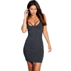 0a0e0811af3 Sexy New Sheath Bandage Bodycon Cocktail Party Mini Dress