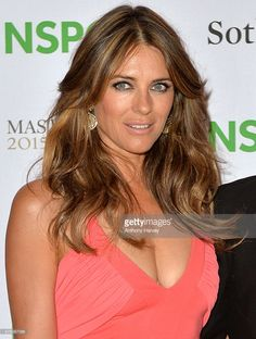 Elizabeth Hurley Photos - Elizabeth Hurley attends the NSPCC Neo-Romantic Art Gala at Masterpiece London on June 2015 in London, England. - Celebrities Arrive at the NSPCC Neo-Romantic Art Gala Elizabeth Hurley, Elizabeth Jane, Elizabeth Olsen, Beautiful Girl Image, Beautiful Women, Elisabeth, Brown Hair, Actresses, Hair Styles