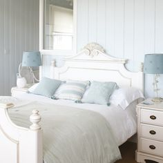 Pale Blue and White Bedrooms | Pandas House550 x 550 | 45KB | www.pandashouse.com