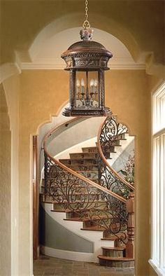 Tuscan Home Foyers | If you want to make an elegant statement and light up your room's ...