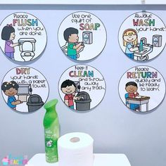 Bathroom Management in the Classroom - A Cupcake for the Teacher Kindergarten Classroom Rules, Kindergarten Classroom Decor, Classroom Procedures, Classroom Jobs, Classroom Organisation, Classroom Activities, Classroom Management, Behavior Management, Classroom Design