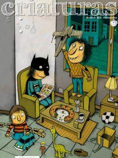 Criaturas, revista de literatura Infantil e Xuvenil